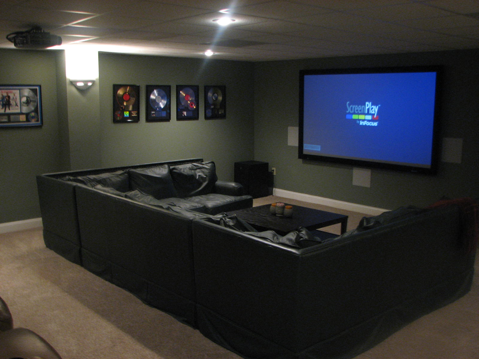 Movie Theater Family Room